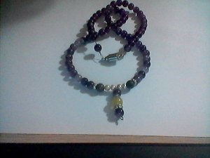Amethyst Necklace with Pendent