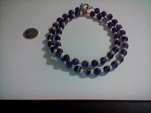 Daisy Amethyst Necklace